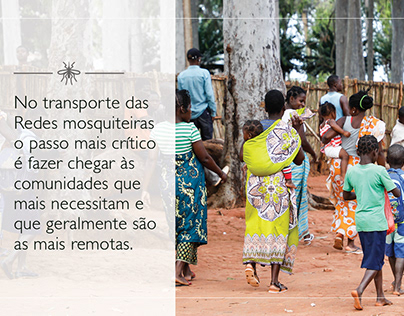 FB Story on Bed Net Distribution in Mozambique