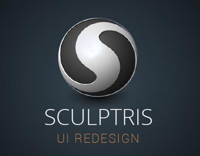 Sculptris UI Redesign