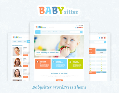 Babysitter WordPress Theme