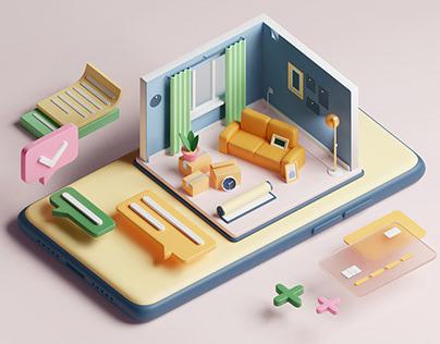 Apartment exchange