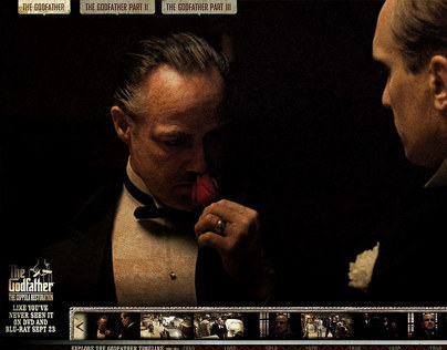 The Godfather Coppola Collection Website