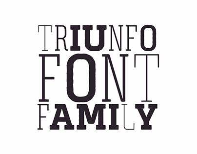 Posters TRIUNFO FontFamily