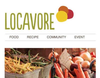 Responsive Website - Locavore