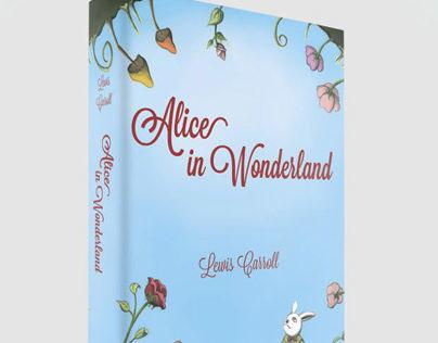 Book Design - Alice in Wonderland
