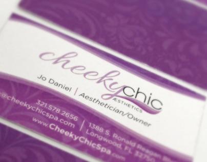 Cheeky Chic Spa Identity