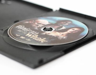 Tinirau & the Whale DVD Design