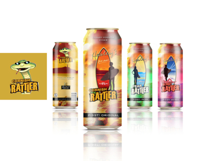 Healy's Cornish Rattler in a Can Concept