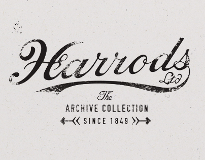Harrods Archive Collection