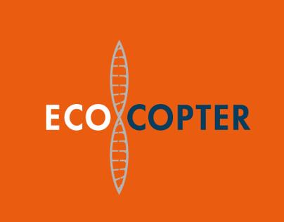 Ecocopter cartel de reciclaje