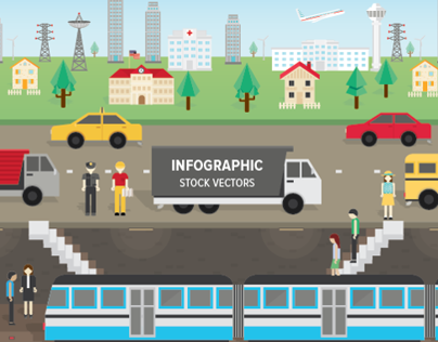 Infographics : Stock Vectors