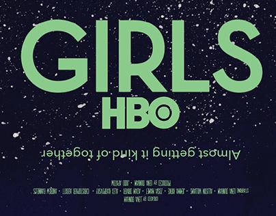 Girls HBO poster