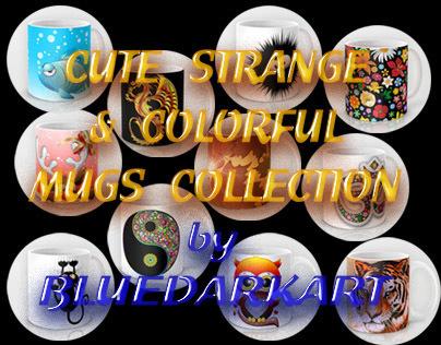 Strange, Cute and Colorful Coffee Mugs Gifts