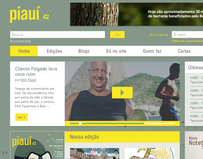 Revista Piauí - Website