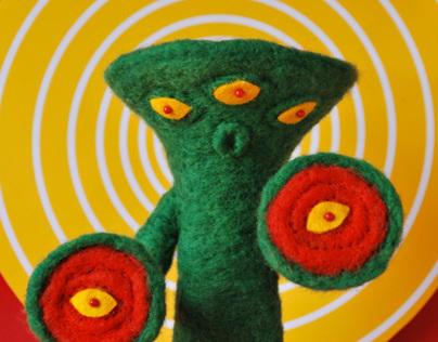 Knock Off Tokusatsu Kaiju Series: Six Eyed Bandel