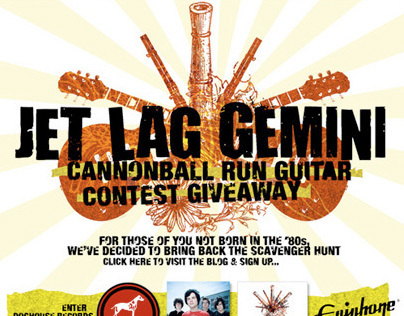 "DOGHOUSE RECORDS ""Jet Lag Gemini/Epiphone Contest"""