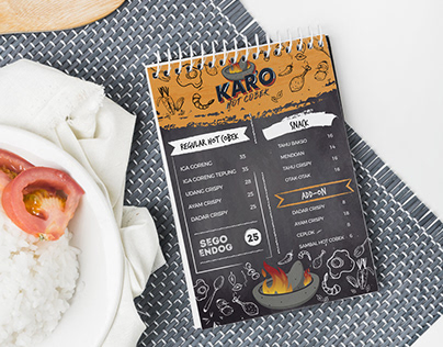 Food Menu Book Design