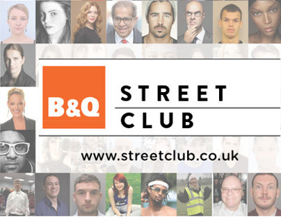 B&Q Street Club Posters & Leaflet