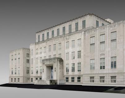 Google Earth - Fort Smith - Sebastian County Courthouse