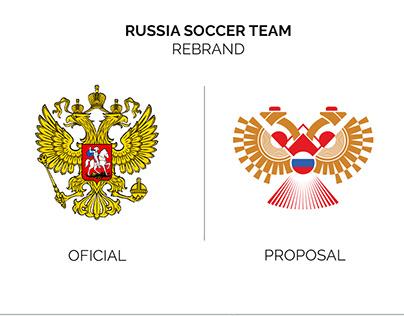 RUSSIA SOCCER TEAM REBRAND