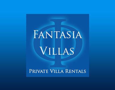 logo and site design for www.fantasiavillas.com