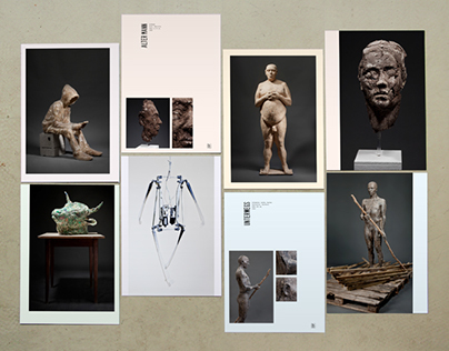 SCULPTOR MATTHIAS RODACH, Exhibition catalog