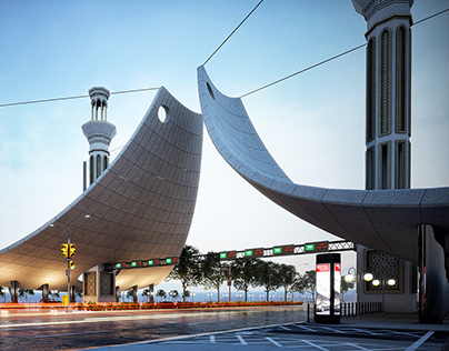 Mecca Highway Toll Gateway