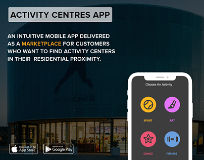 Activity Centers App