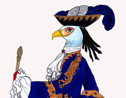 La Cour des Oiseaux (The Court of Birds)