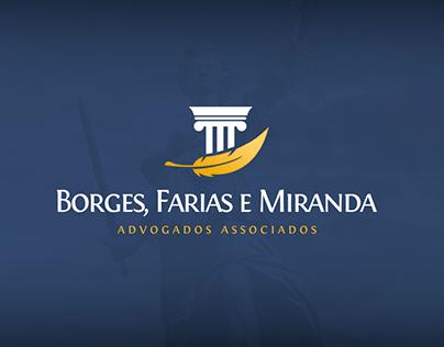 Logo - Borges, Farias e Miranda - Advogados