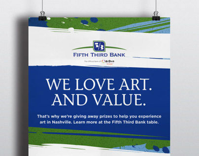 Fifth Third Bank - Artober Event Collateral