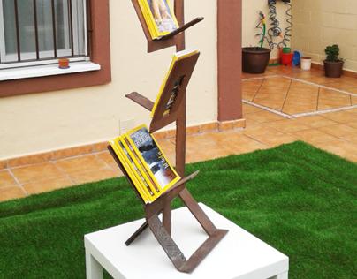 Escultura de una única pieza.