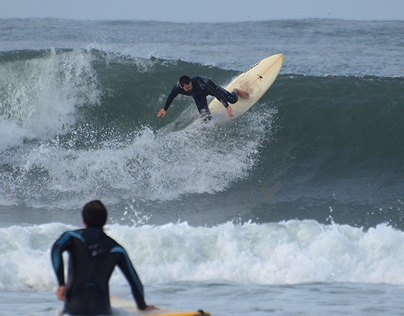 Freestyle Surfers at Praia da Barra, 09 November 2013