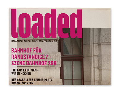"Magazin ""loaded"""