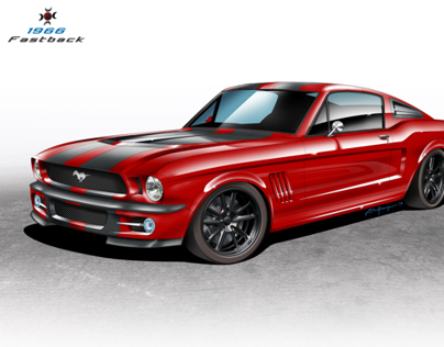 66' Mustang Fastback for Customs Factory