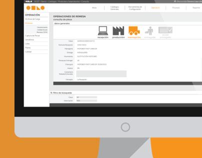 Production & Distribution Management System