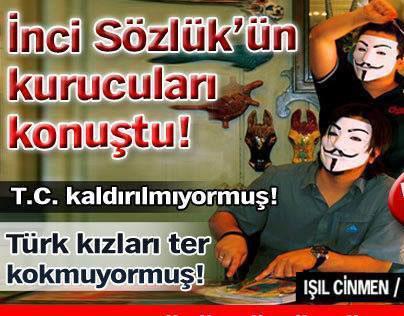 İnci Sözlük / Mayıs 2013 / Habertürk Röportaj
