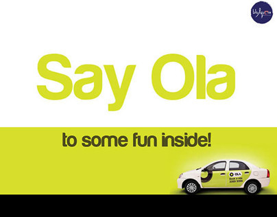 Ola Cabs -  In cab brand experience design