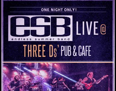 ESB Concert poster