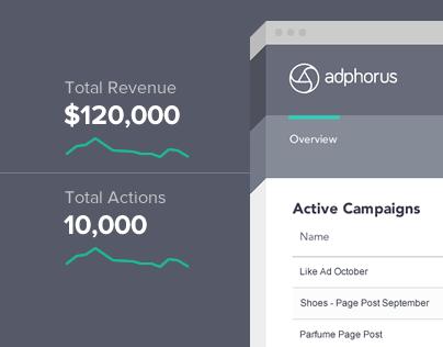 Adphorus - UI Design for a SaaS