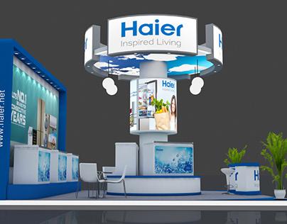 Exhibition Stall Design & Execution - Haier