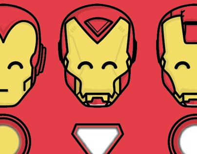 Iron Man Armor Masks