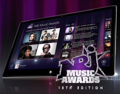 NRJ MUSIC AWARDS WINDOWS 8.1