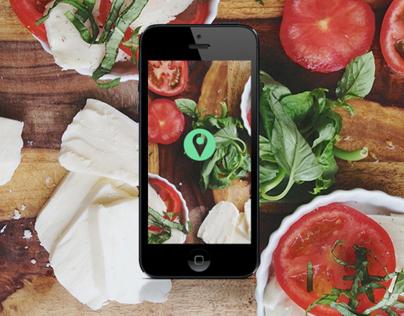 Restaurant's Gallery / Mobile App Prototype