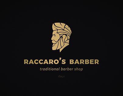Raccaro's Barber - Visual ID