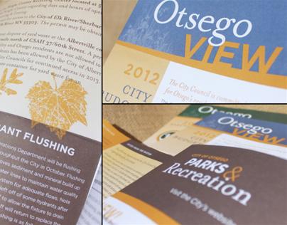 City of Otsego Newsletters