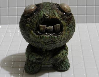 Terrified Podling (3 inch KR Dunny custom)