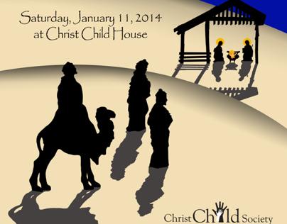 2014 Christ Child Twelfth Night invitations