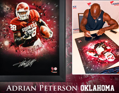 """Adrian Peterson COLLEGE """"In Focus"""""""