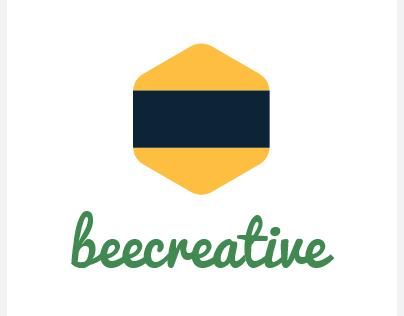 BeeCreative Mobile App Logo Design