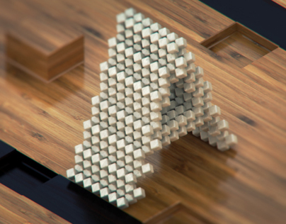 Pixelated Typography